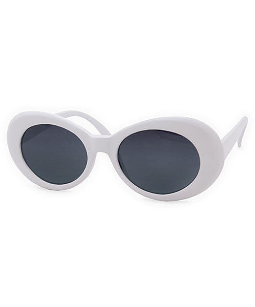 cobain white sunglasses