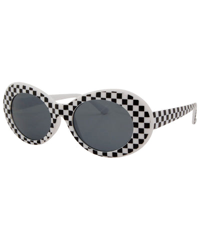 67d7d4bbde7 cobain white checkers sunglasses