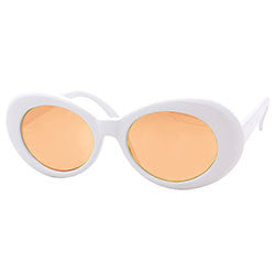 cobain white maple sunglasses
