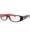 coded black red sunglasses