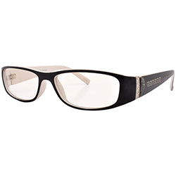 coded black white sunglasses