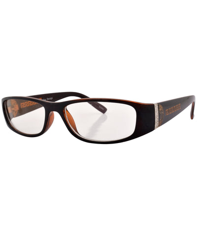 coded brown sunglasses