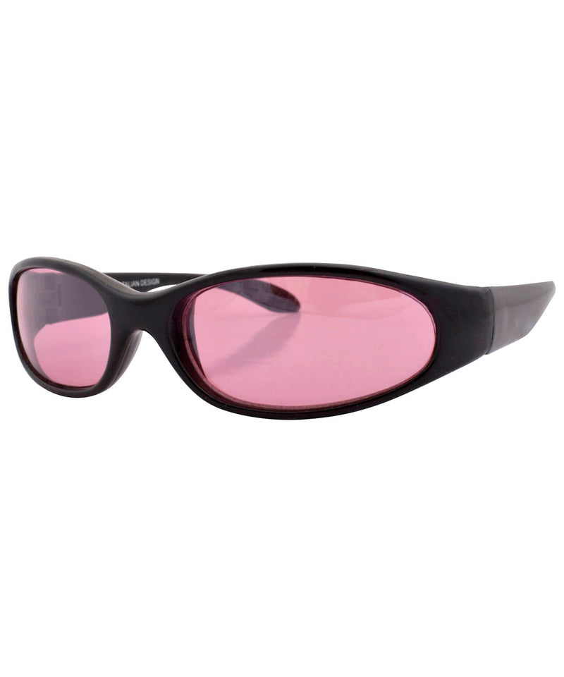coogie black pink sunglasses