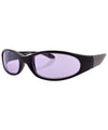 coogie black purple sunglasses