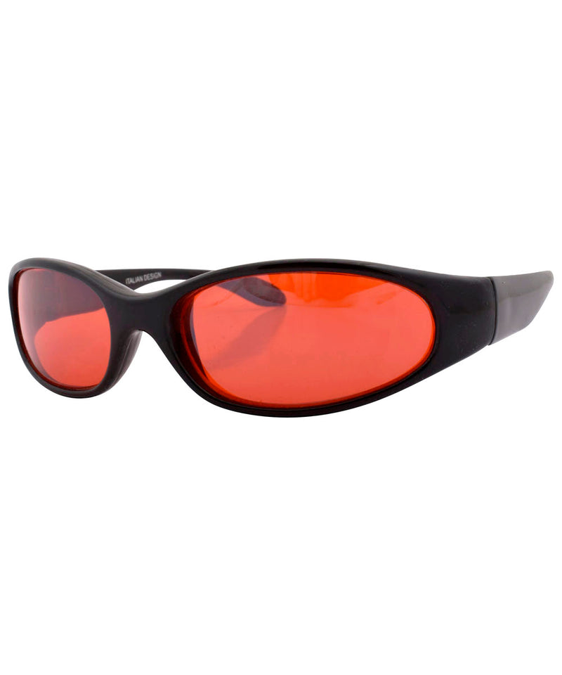coogie black red sunglasses