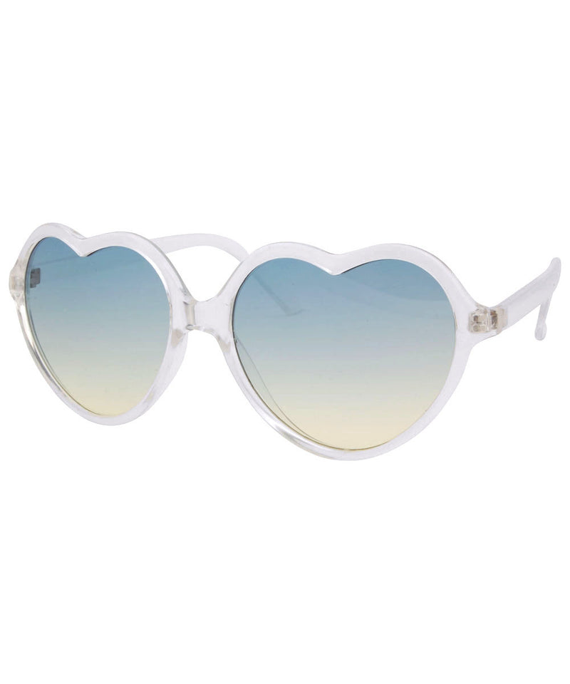 corazon aqua sunglasses