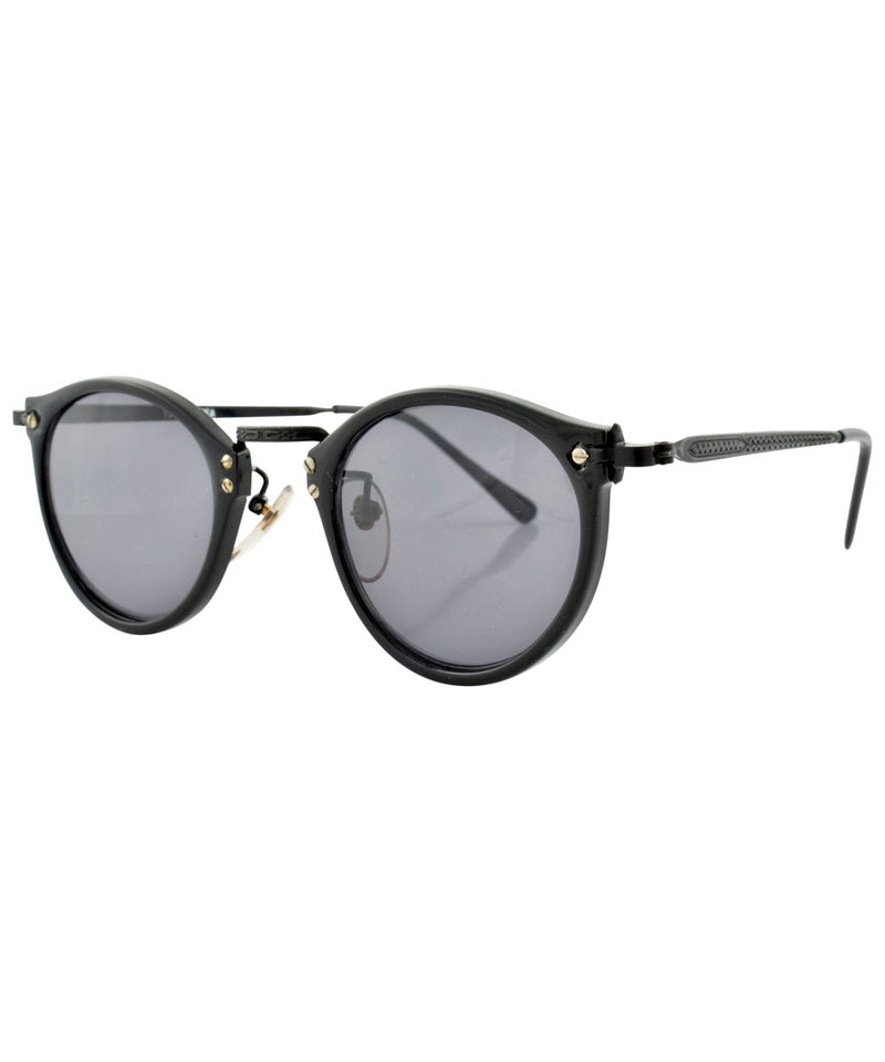 court black black sunglasses