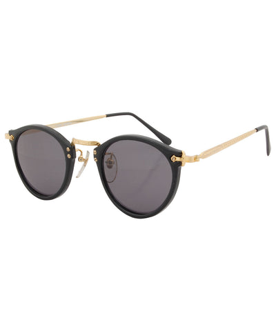 court black gold sunglasses
