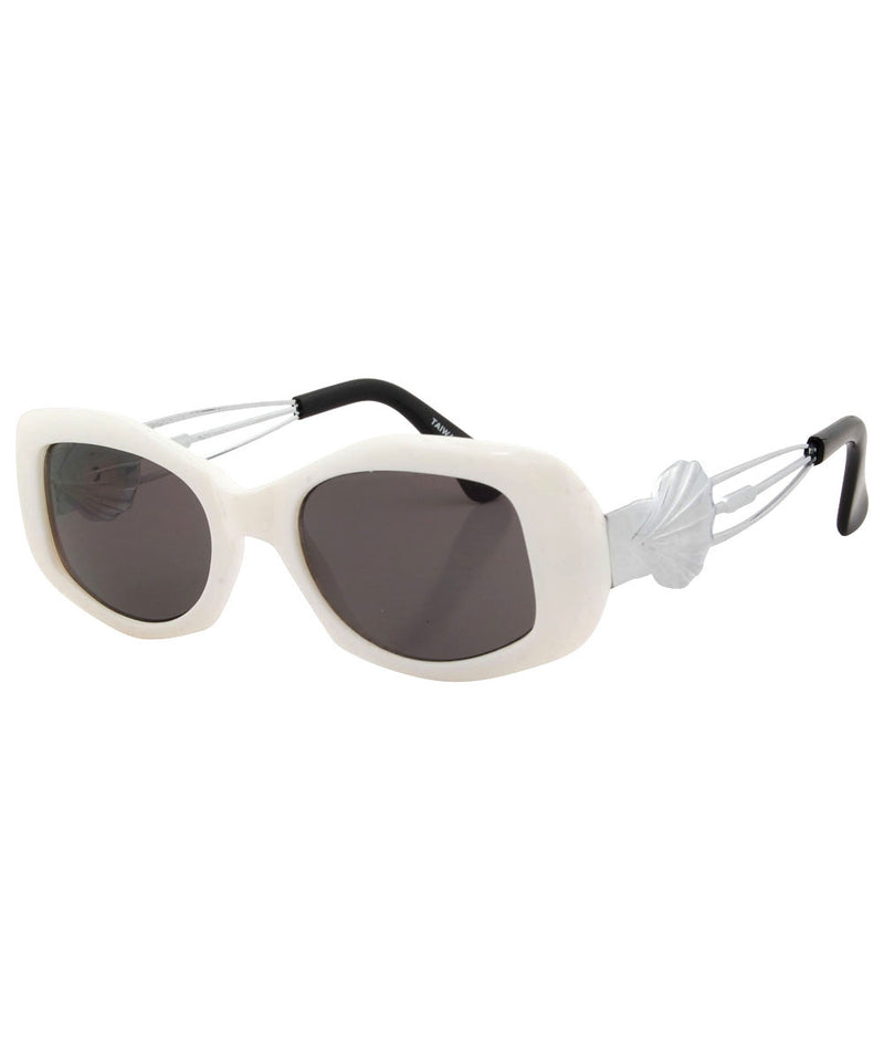 creamy white sunglasses