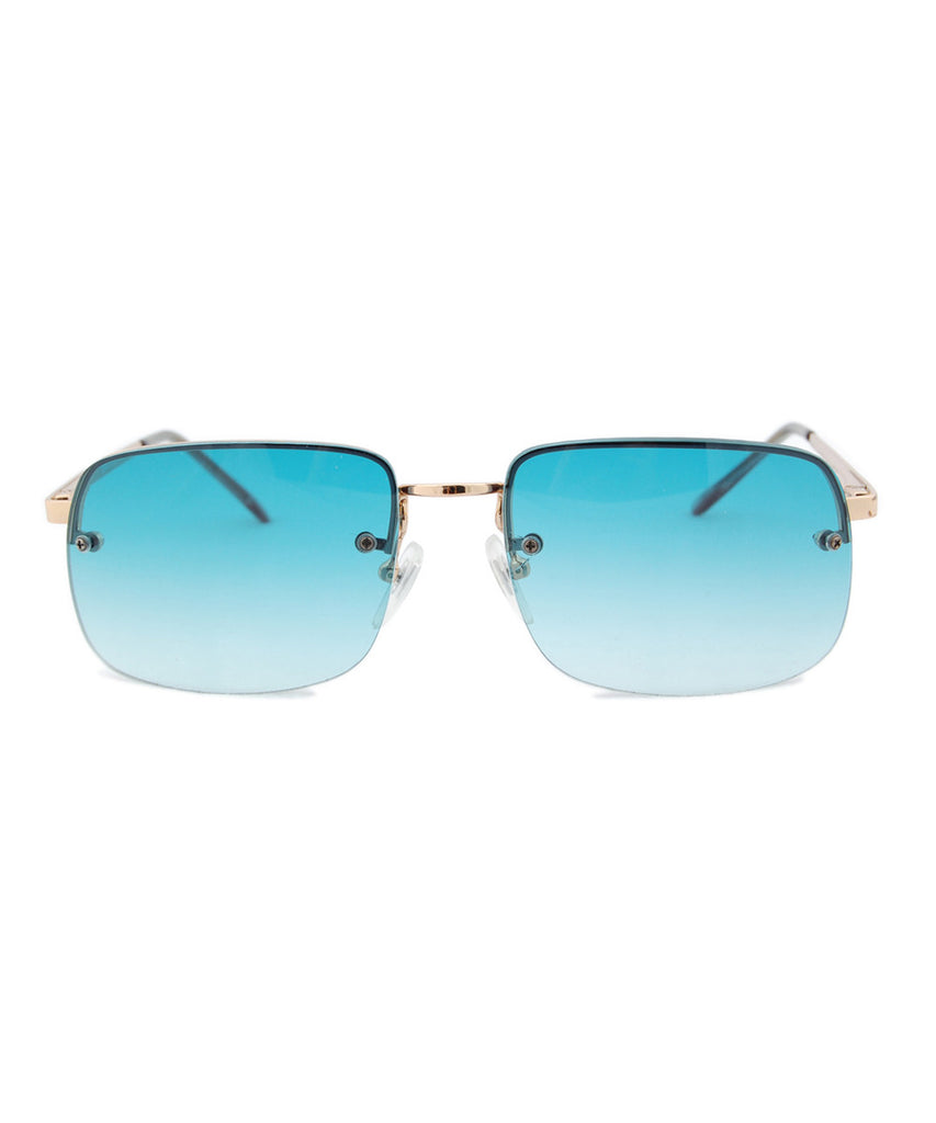 cressida teal sunglasses
