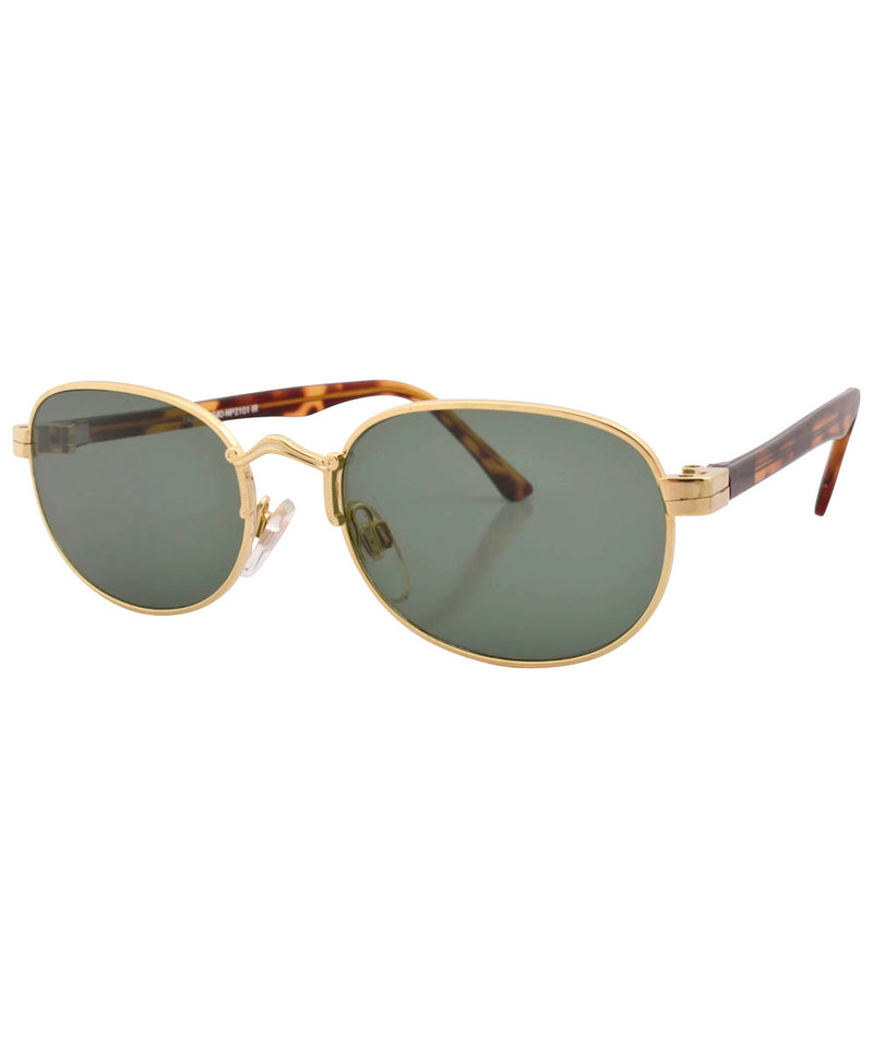 crest gold sunglasses
