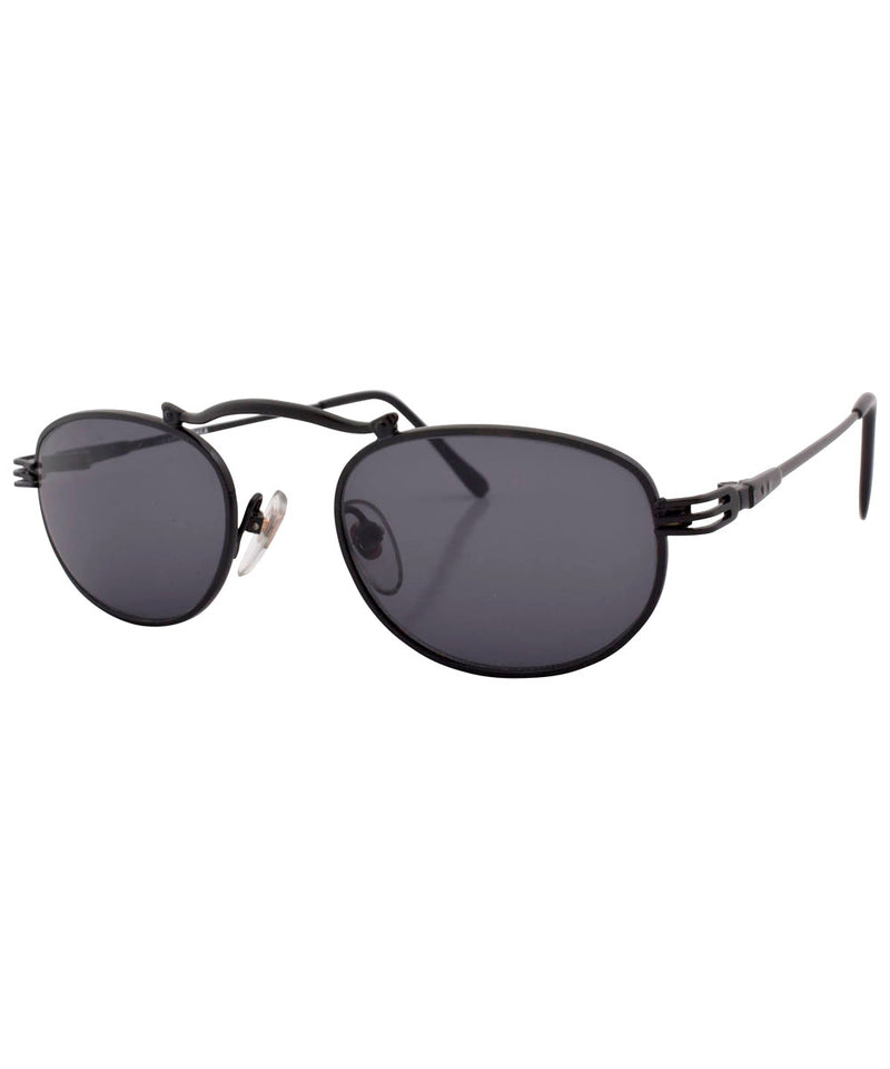 crime black sunglasses