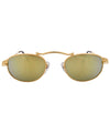 crime gold sunglasses