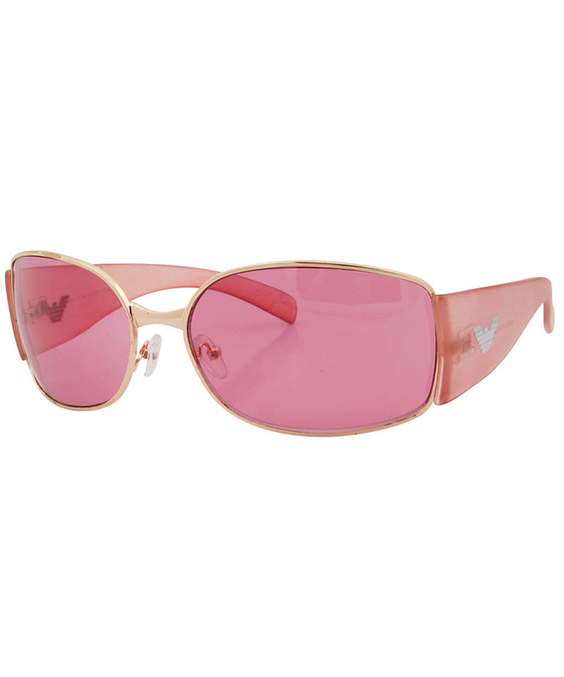 crystals pink sunglasses