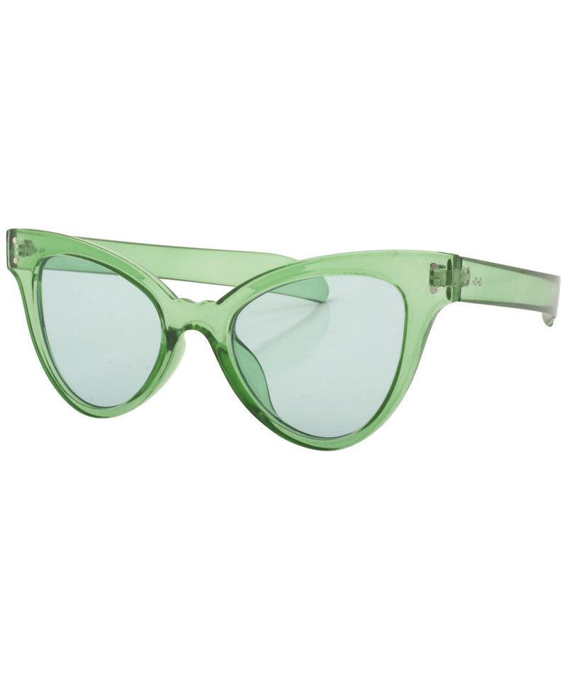 cupid green sunglasses