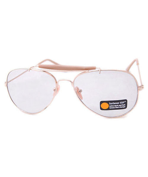 7da42862b3 cx officer gold sunglasses ...