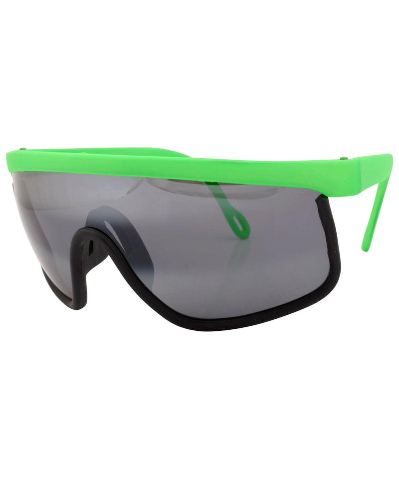 daffy green sunglasses