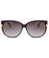 daisy black smoke sunglasses
