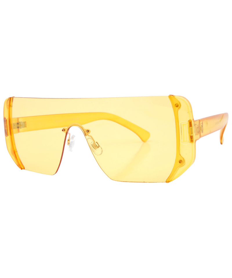 candies yellow sunglasses