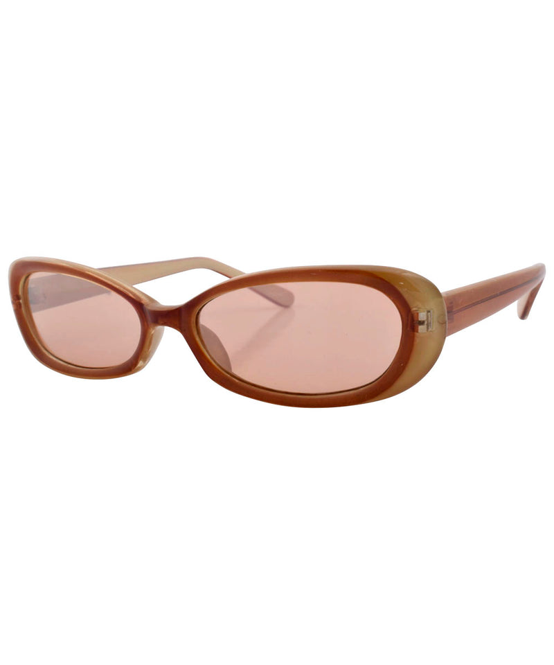 dandies brown sunglasses