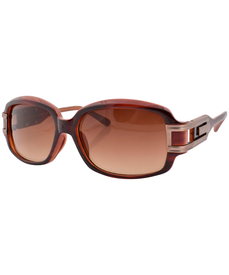 dazz brown sunglasses