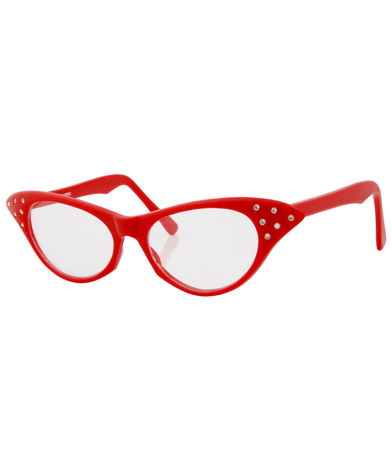 debevics red sunglasses