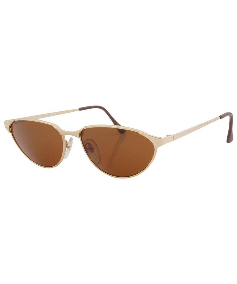 devlin gold sunglasses