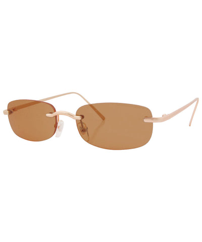 demitasse brown sunglasses