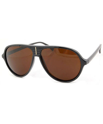 dennis black brown sunglasses
