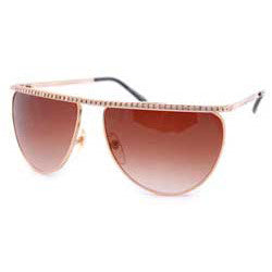 dinero gold sunglasses