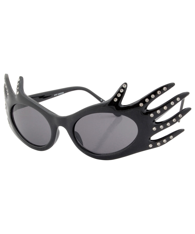 divine black sunglasses