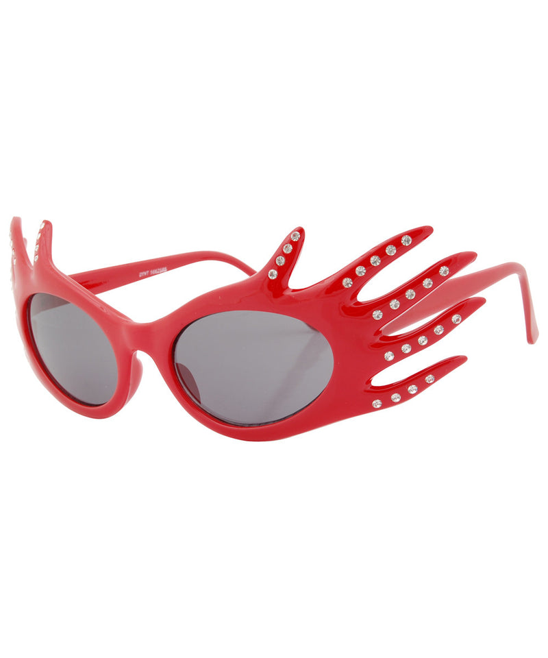 divine red sunglasses