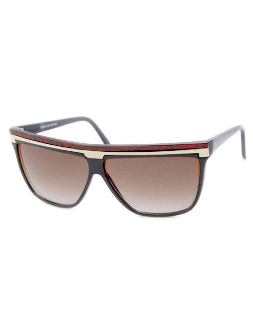 d lux red sunglasses