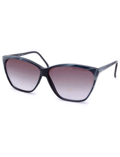 doris black gray sunglasses