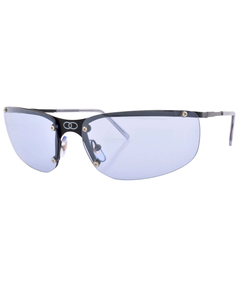 double blue black sunglasses