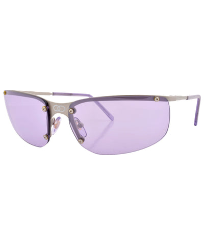 double purple gun sunglasses