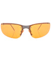 double yellow sunglasses