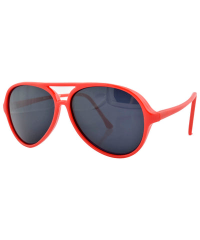 dr tom red sunglasses
