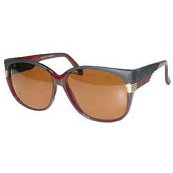 daisy black crystal red sunglasses