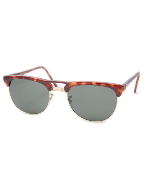 ducky tortoise gold sunglasses