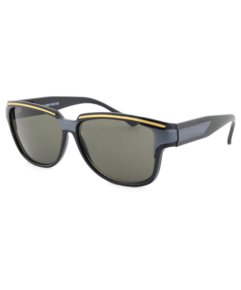 duke charcoal sunglasses