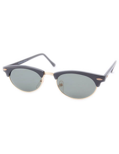 dusty black sunglasses