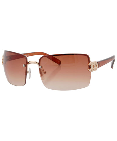 da oc brown sunglasses