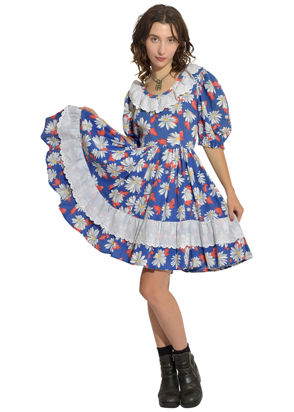 Daisy Western Square Dance Dress