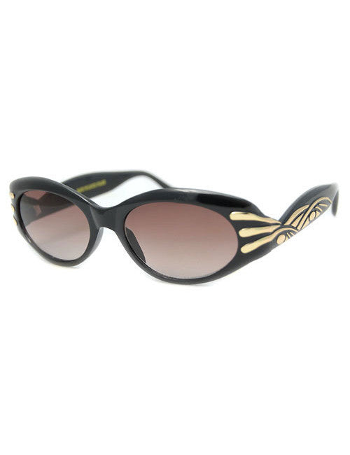 effie black sunglasses