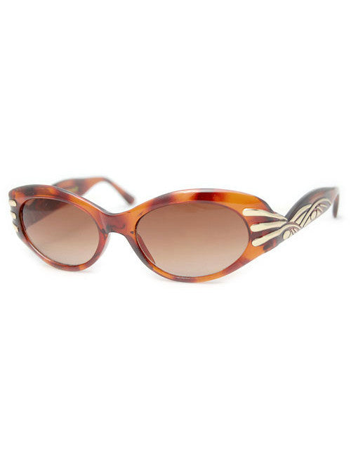 effie tortoise sunglasses