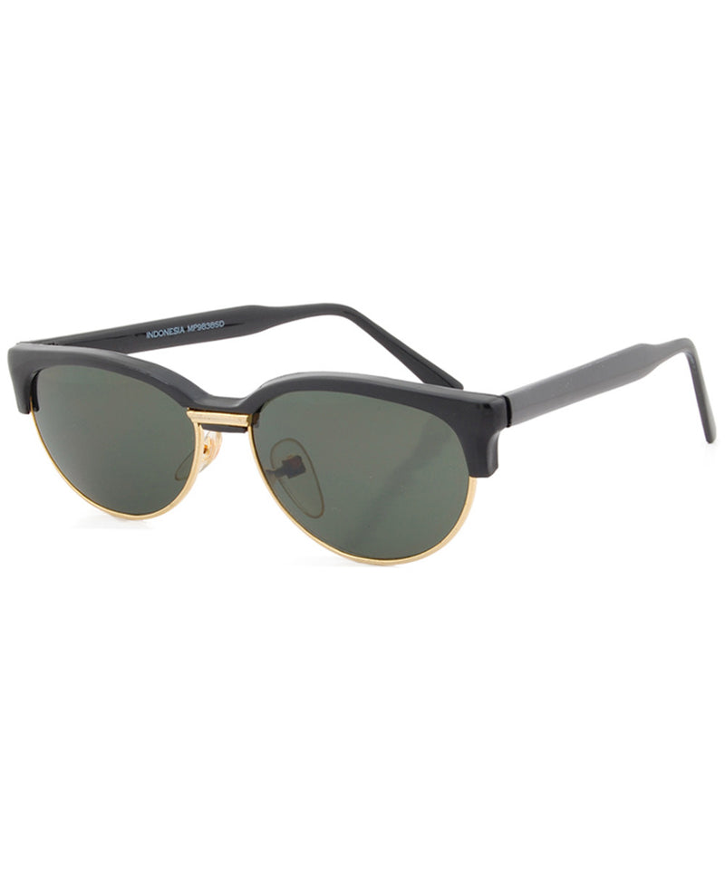 elba black sunglasses