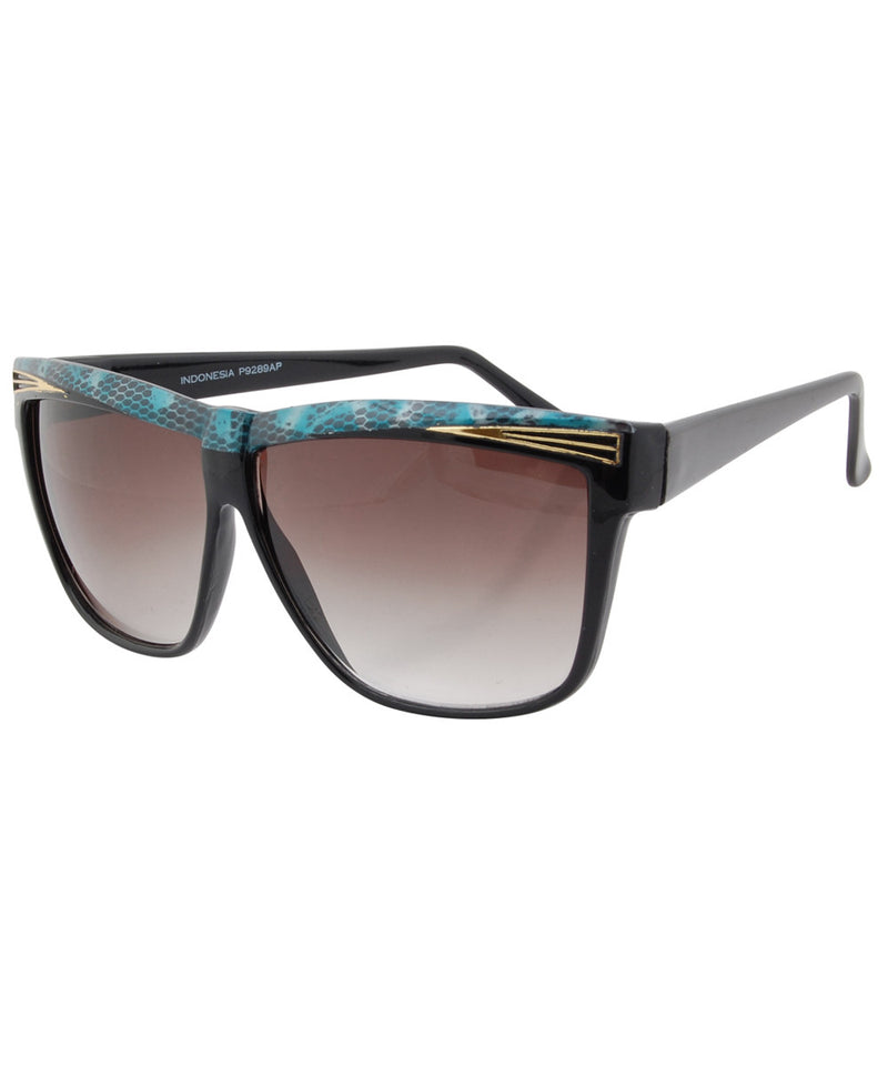 eldorado black blue sunglasses