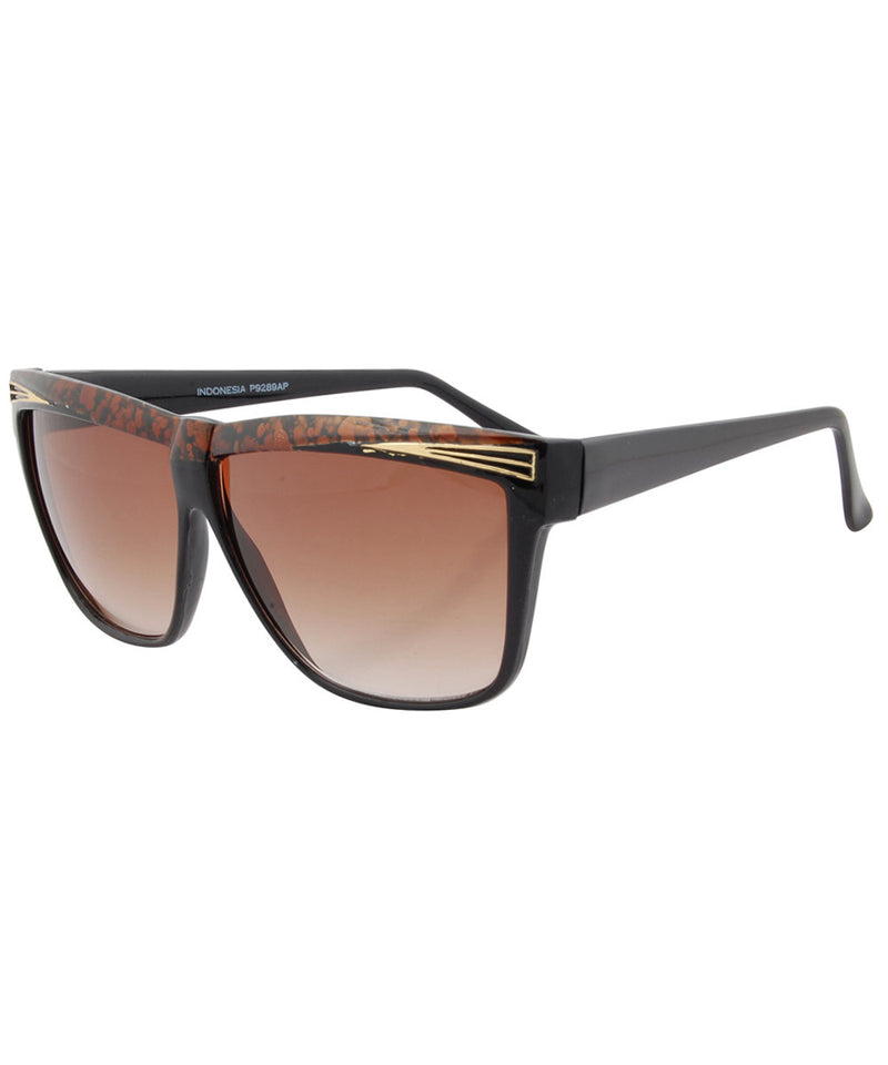 eldorado black brown sunglasses