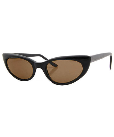 eli black brown sunglasses